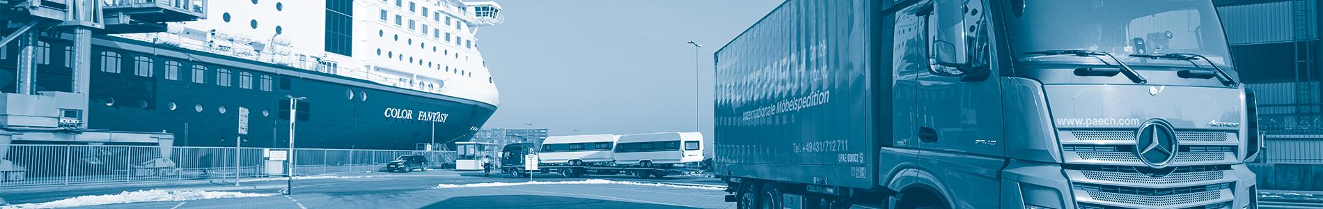 Ute Paech GmbH & Co. KG - Umzug nach Norwegen - Oslo, Bergen, Trondheim, Stavanger und mehr!