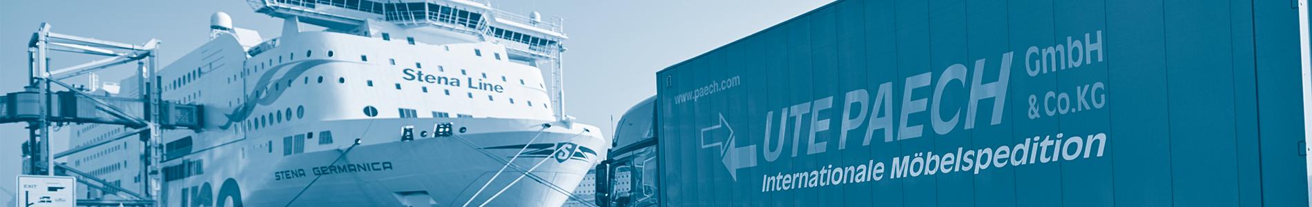 Ute Paech GmbH & Co. KG - Umzug nach Schweden - Stockholm, Malmö, Göteborg und mehr!