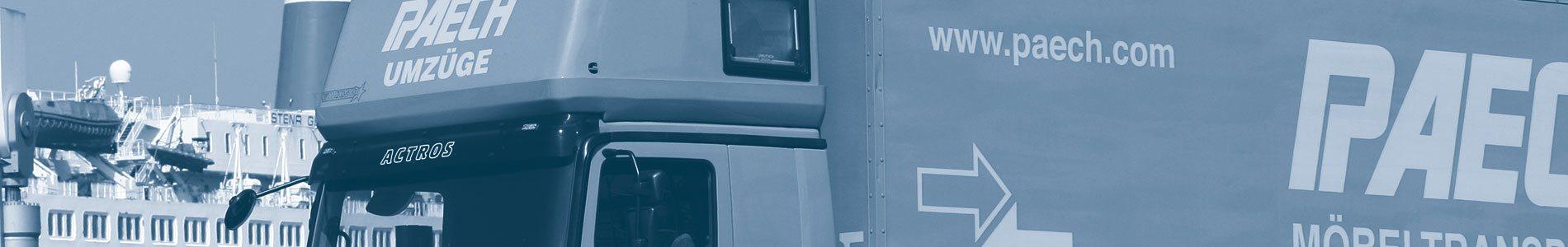 Ute Paech GmbH & Co. KG - Umzug nach Dänemark - Kopenhagen, Esbjerg, Odense ... und mehr!