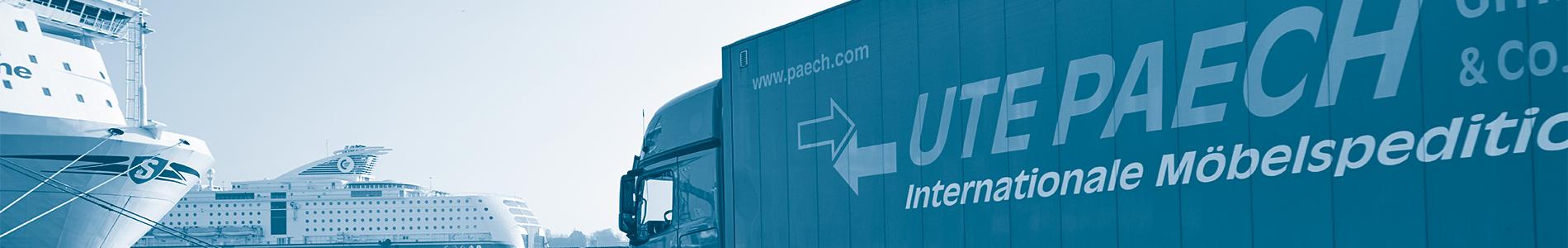 Ute Paech GmbH & Co. KG - Umzug Skandinavien und Europa